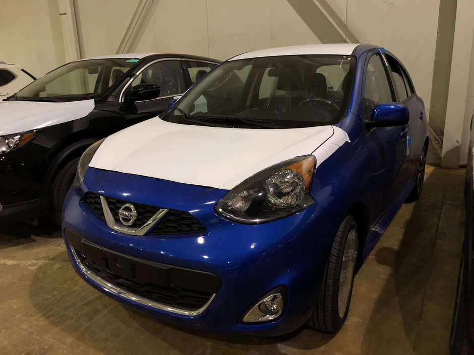 2018 Nissan Micra 1.6 SR at in Mississauga, Ontario - w940px