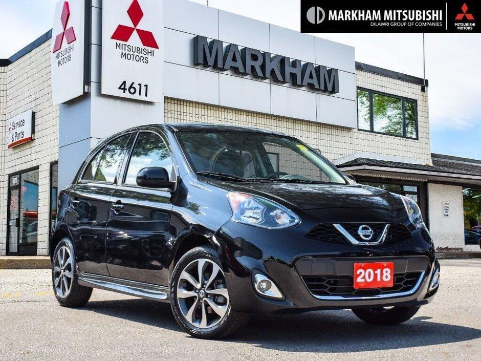 Nissan Micra 2018 >> Markham Mitsubishi 2018 Nissan Micra 1 6 Sr At