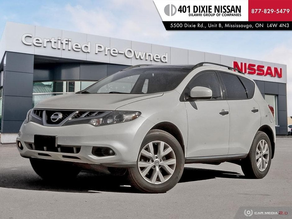 2012 Nissan Murano AWD SV CVT in Mississauga, Ontario - w940px