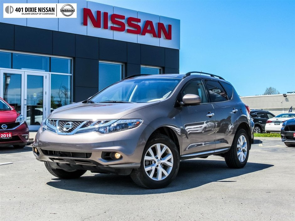 2014 Nissan Murano SL AWD CVT in Mississauga, Ontario - w940px