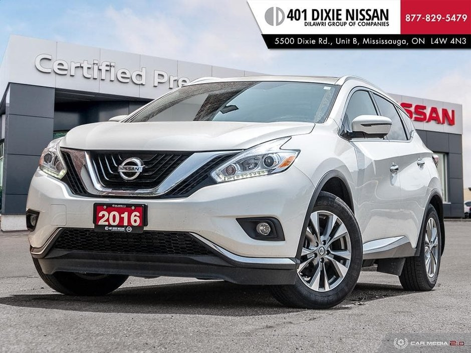 2016 Nissan Murano SL AWD CVT in Mississauga, Ontario - w940px