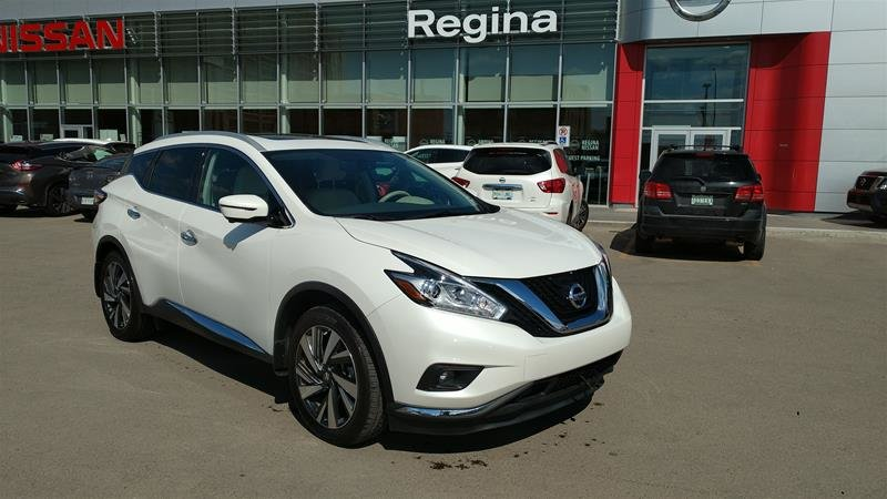 2018 Nissan Murano Platinum AWD CVT in Regina, Saskatchewan - w940px
