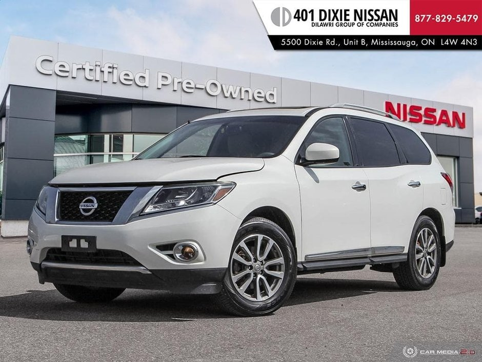 2014 Nissan Pathfinder SL V6 4x4 at in Mississauga, Ontario - w940px