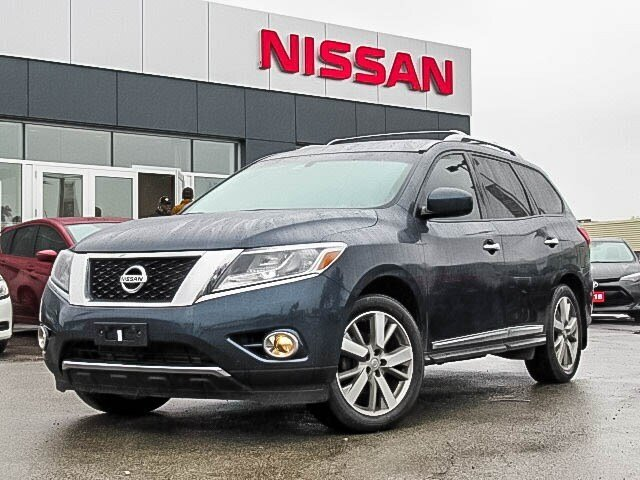 2016 Nissan Pathfinder Platinum V6 4x4 at in Mississauga, Ontario - w940px