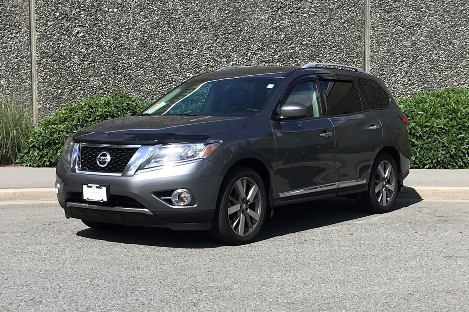 2016 Nissan Pathfinder Platinum V6 4x4 at in North Vancouver, British Columbia - w940px