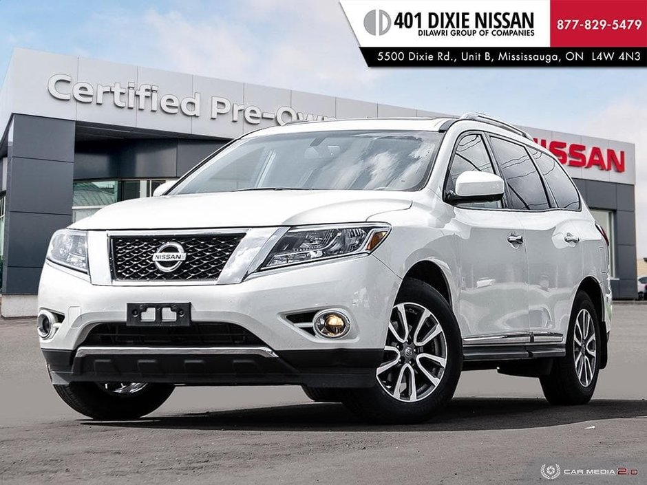2016 Nissan Pathfinder SL V6 4x4 at in Mississauga, Ontario - w940px