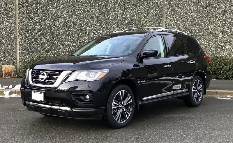 2018 Nissan Pathfinder Platinum V6 4x4 at in North Vancouver, British Columbia - w940px