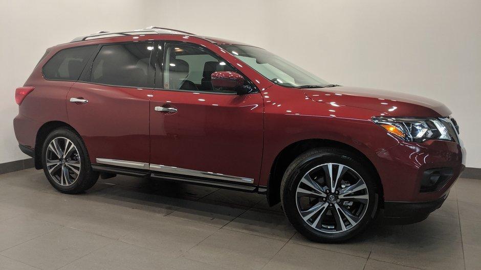 2019 Nissan Pathfinder Platinum V6 4x4 at in Regina, Saskatchewan - w940px