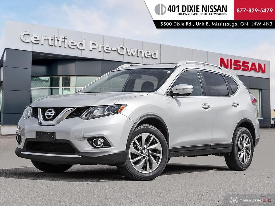 2014 Nissan Rogue SL AWD CVT in Mississauga, Ontario - w940px