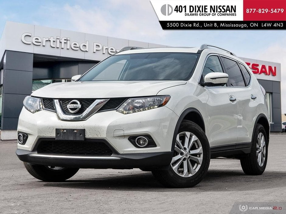 2016 Nissan Rogue SV AWD CVT in Mississauga, Ontario - w940px