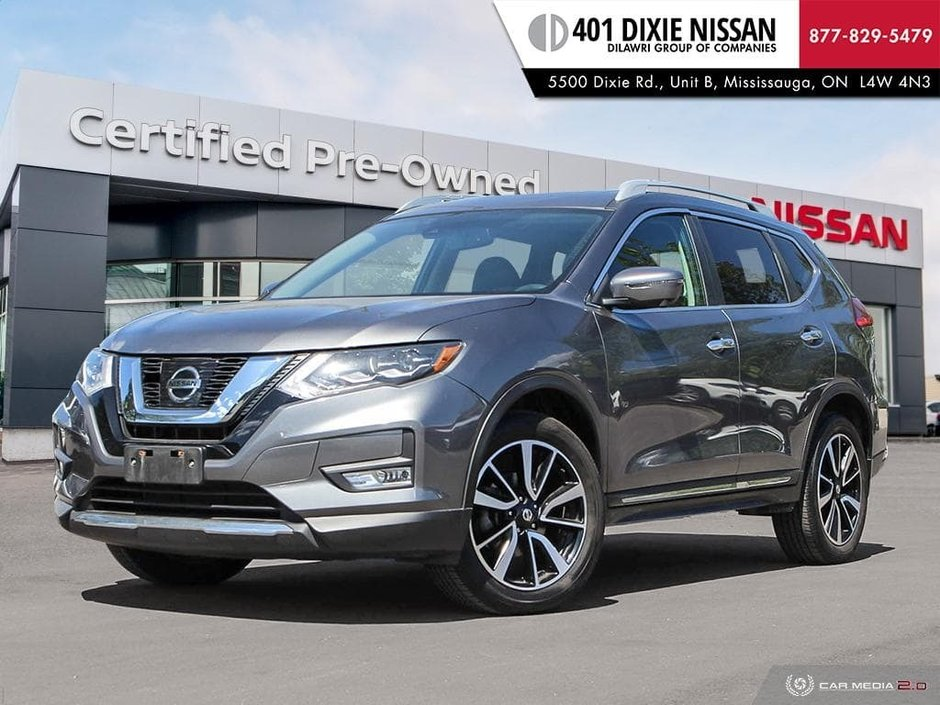 2017 Nissan Rogue SL Platinum AWD in Mississauga, Ontario - w940px