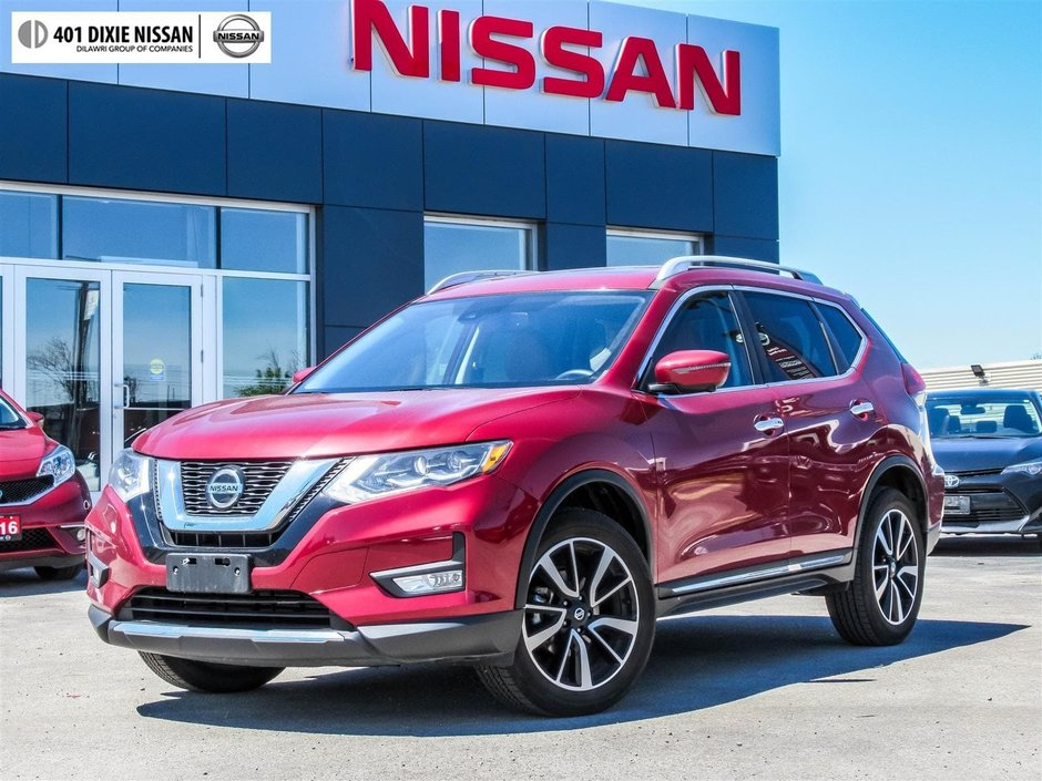 2018 Nissan Rogue SL AWD CVT in Mississauga, Ontario - w940px