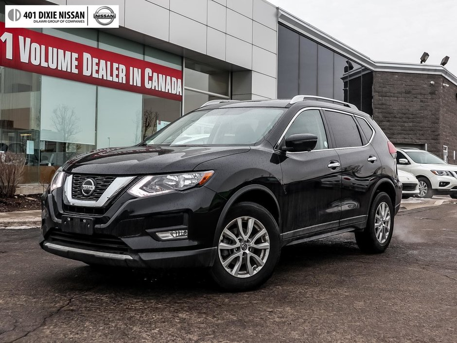 2018 Nissan Rogue SV AWD CVT in Mississauga, Ontario - w940px