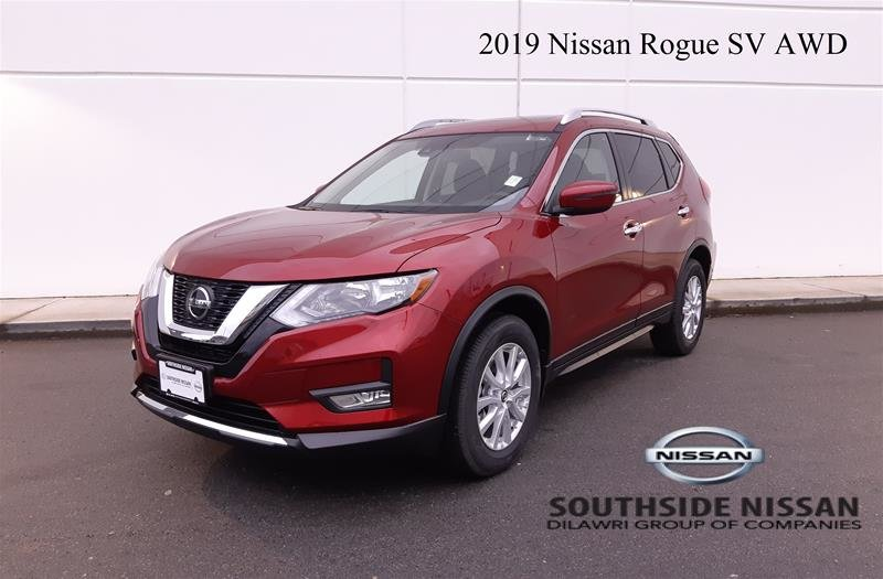 2019 Nissan Rogue SV AWD CVT in Vancouver, British Columbia - w940px