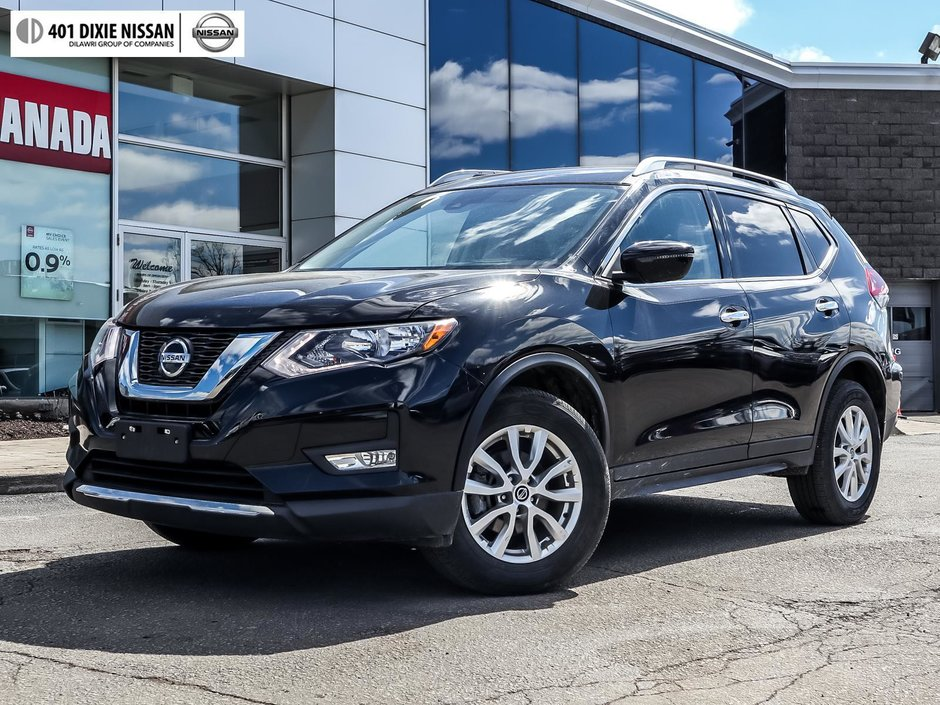 2019 Nissan Rogue SV AWD CVT in Mississauga, Ontario - w940px