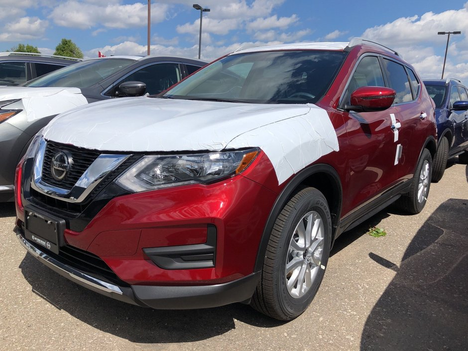 2020 Nissan Rogue S AWD CVT in Mississauga, Ontario - w940px