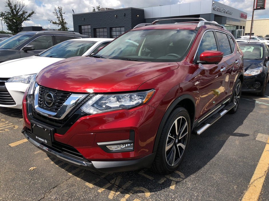 2020 Nissan Rogue SL AWD CVT in Mississauga, Ontario - w940px