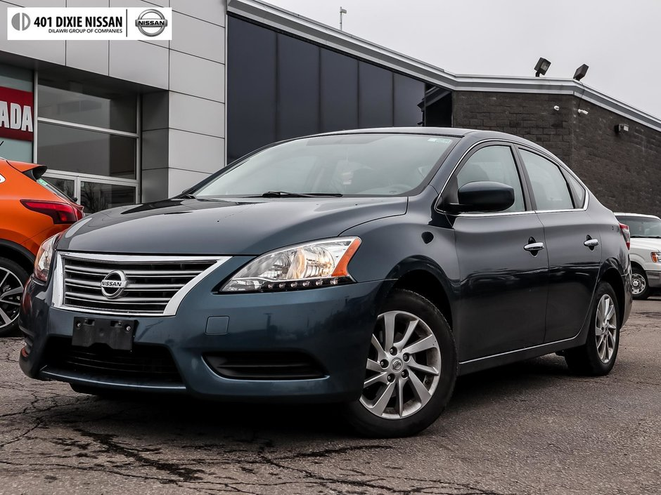 2015 Nissan Sentra 1.8 SV CVT in Mississauga, Ontario - w940px