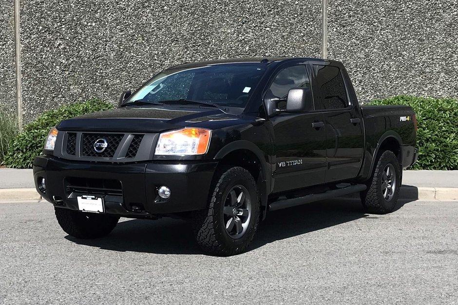2015 Nissan Titan Crew Cab PRO-4X 4X4 SWB in North Vancouver, British Columbia - w940px