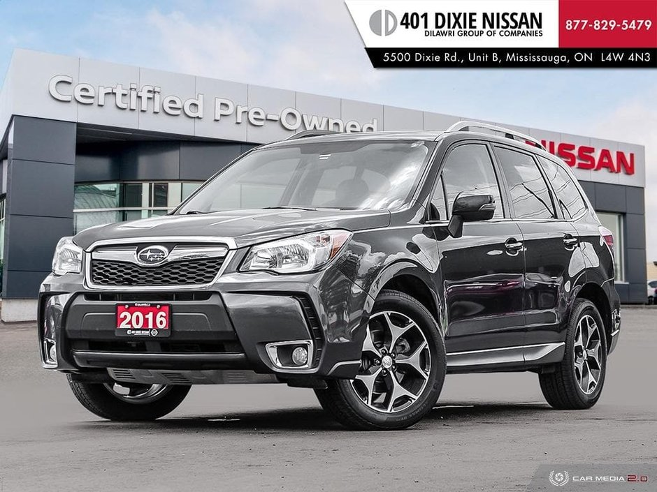 2016 Subaru Forester 2.0XT Limited at in Mississauga, Ontario - w940px