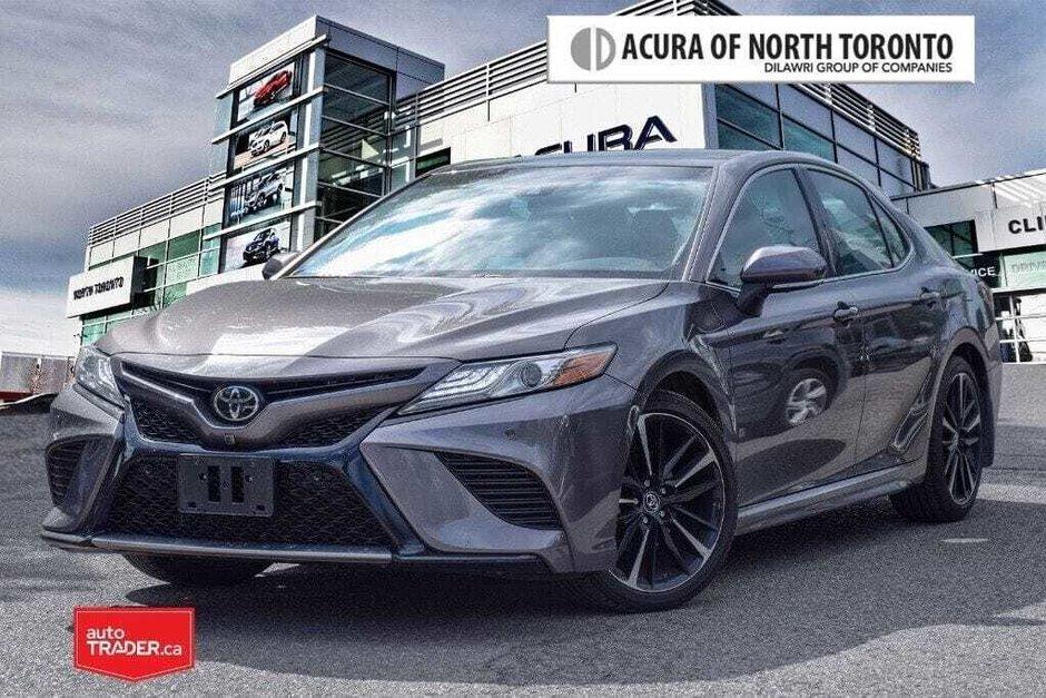 2018 Toyota Camry 4-Door Sedan XSE V6 8A in Thornhill, Ontario - w940px