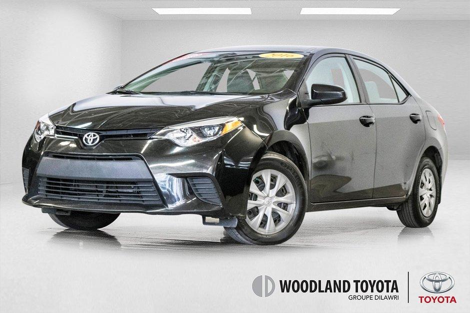 Toyota Corolla CE/Bluetooth/Groupe Électrique ++ 2016 à Verdun, Québec - w940px