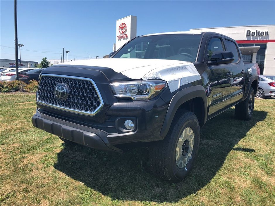 2018 Toyota Tacoma 4x4 Double Cab V6 TRD Off-Road 6A in Bolton, Ontario - w940px