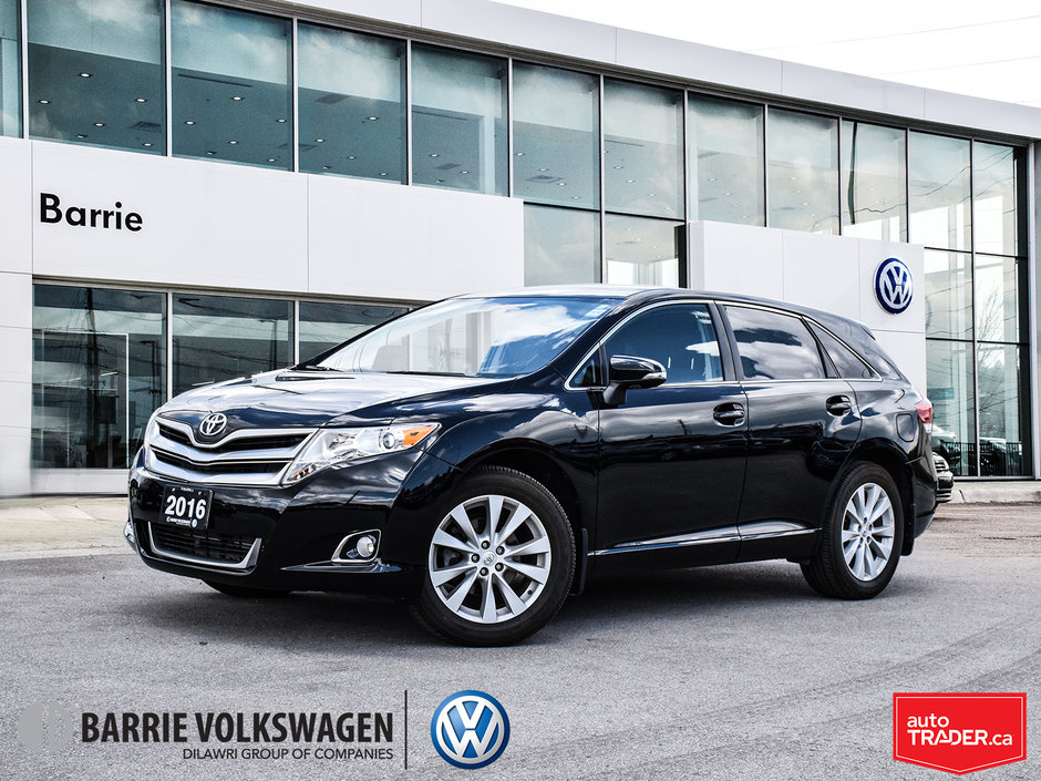 Toyota Venza 2016 >> Barrie Volkswagen 2016 Toyota Venza 4cyl 6a P11627