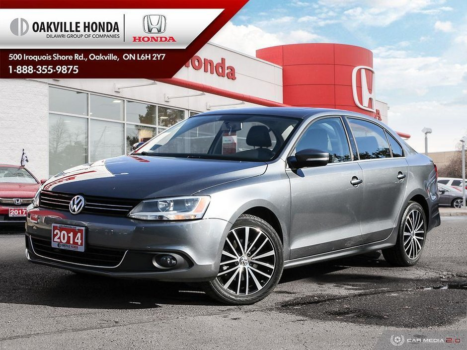 2014 Volkswagen Jetta Highline 1.8T 6sp at w/Tip in Oakville, Ontario - w940px