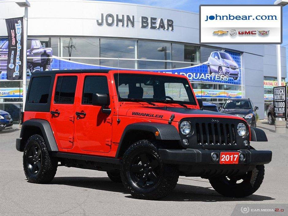 Jeep Big Bear >> John Bear St Catharines 2017 Jeep Wrangler Unlimited Big