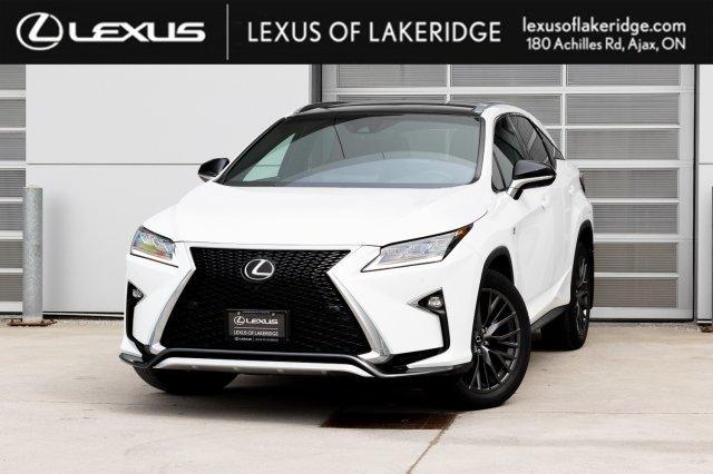 Lexus Of Lakeridge 2017 Lexus Rx 350 Awd F Sport 3 Headup Display Mark Levinson Panoramic Roof P0625