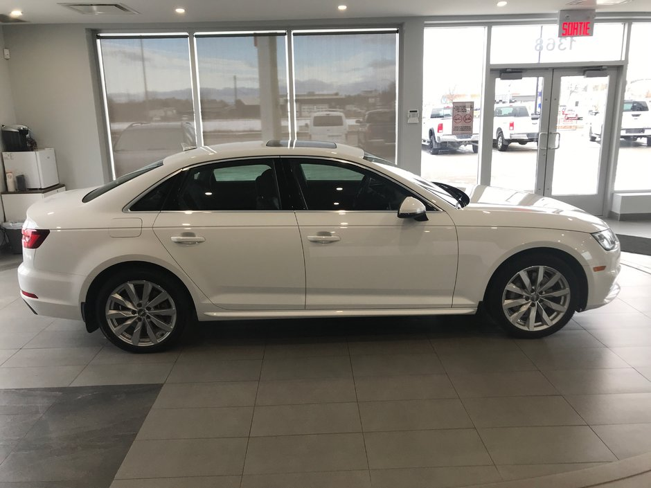 Sept Iles Chevrolet Buick Gmc 2018 Audi A4 Sedan Komfort 319389