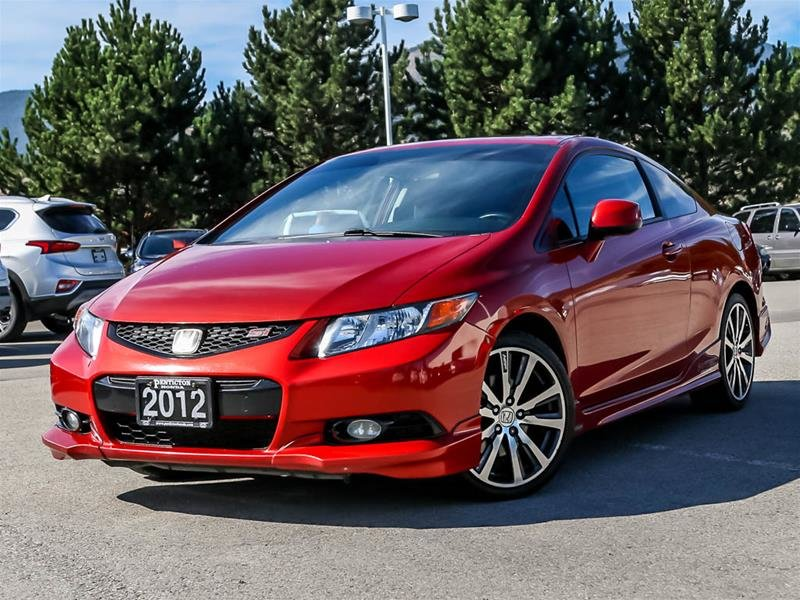 2012 Honda Civic Coupe Si-VSA Navi 6sp
