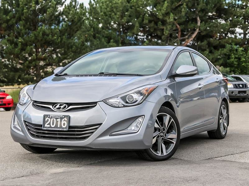 2016 Hyundai Elantra Sedan Limited