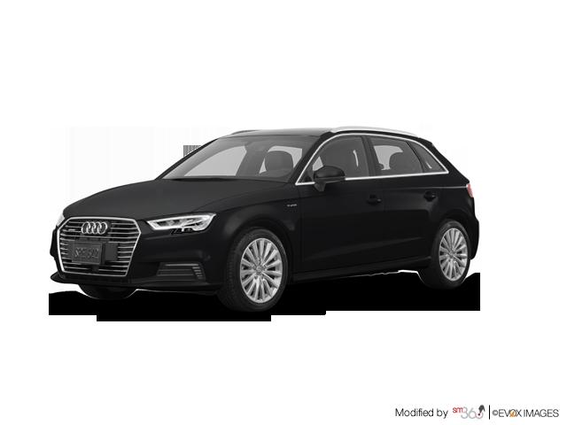 Audi A3 SPORTBACK E-TRON Technik 2018 - Extérieur - 1