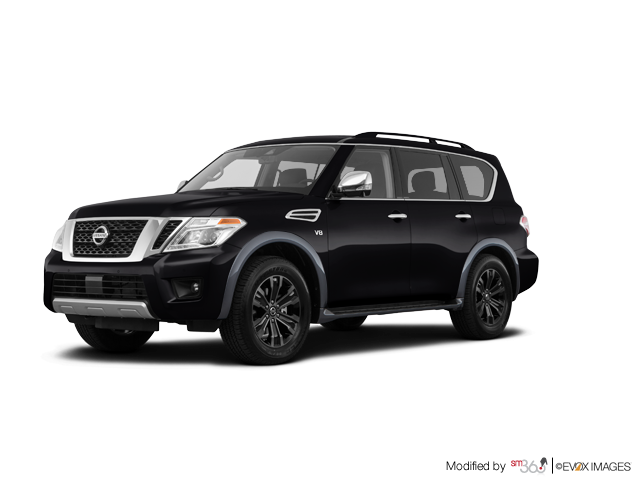 2018 Nissan Armada Platinum at - Exterior - 1