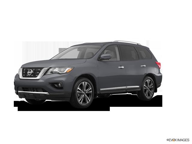 2018 Nissan Pathfinder Platinum V6 4x4 at - Exterior - 1