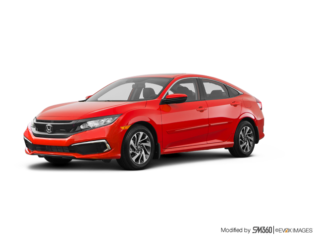 2019 Honda Civic Sedan EX CVT - Exterior - 1