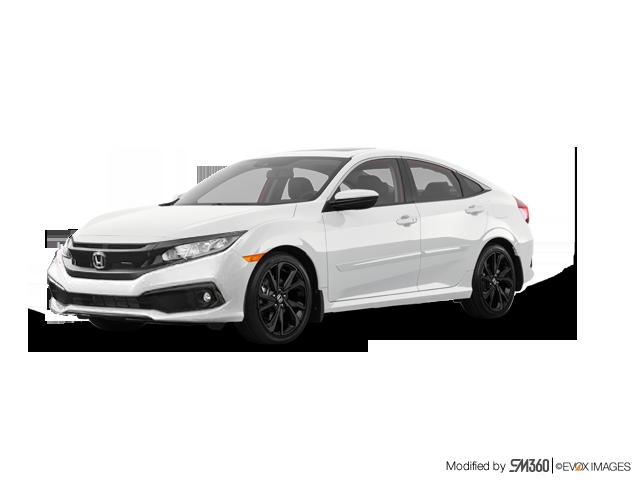 2019 Honda Civic Sedan Sport CVT - Exterior - 1
