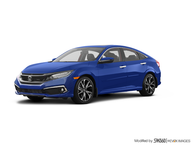 2019 Honda Civic Sedan Touring CVT - Exterior - 1