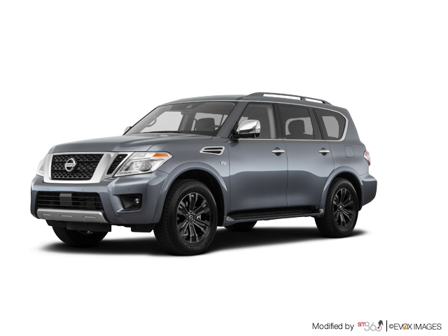 2019 Nissan Armada Platinum at - Exterior - 1
