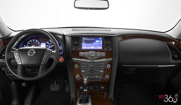 2019 Nissan Armada Platinum at - Interior - 1