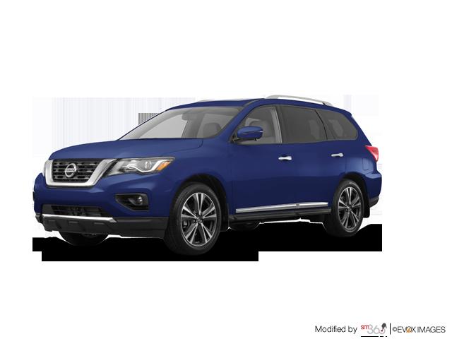 2019 Nissan Pathfinder Platinum V6 4x4 at - Exterior - 1