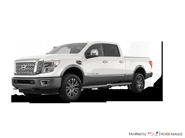 2019 Nissan Titan Crew Cab XD Platinum 4x4 Two-Tone Diesel