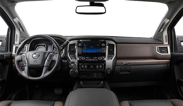 2019 Nissan Titan Crew Cab XD Platinum 4x4 Two-Tone Diesel - Interior - 1