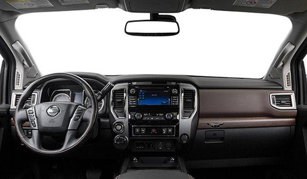 2019 Nissan Titan Crew Cab Platinum 4X4 - Interior - 1