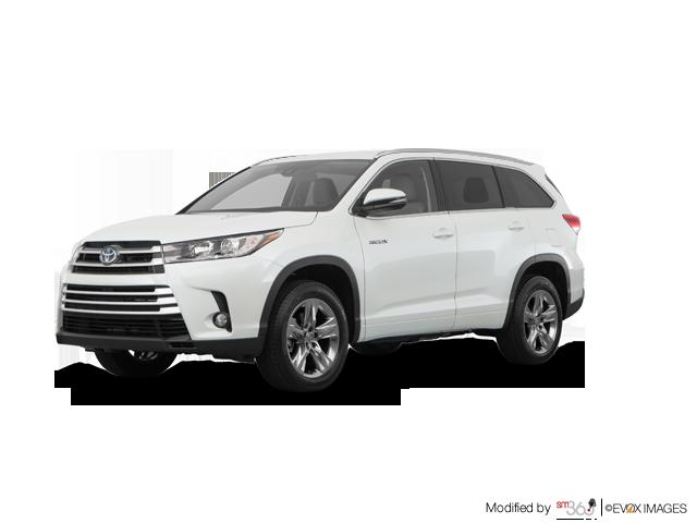2019 Toyota Highlander Hybrid Limited - Exterior - 1