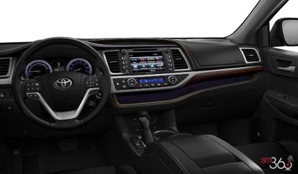 2019 Toyota Highlander Hybrid Limited - Interior - 1
