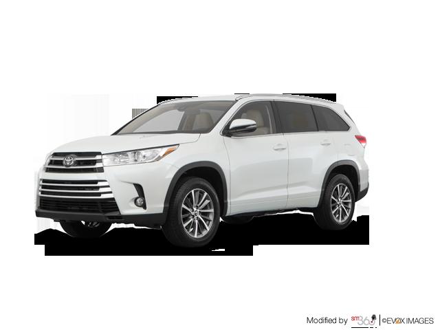 2019 Toyota Highlander XLE - Exterior - 1