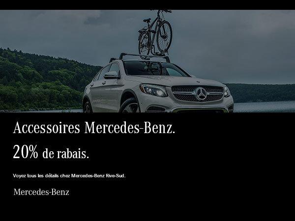 Accessoires Mercedes-Benz à 20% de rabais.
